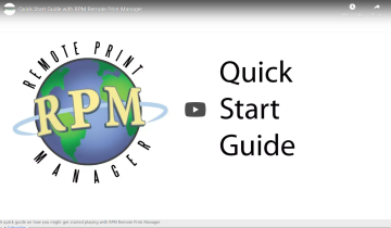RPM Quick Start Guide